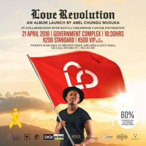 "Abel Chungu -  ""Love Revolution"""