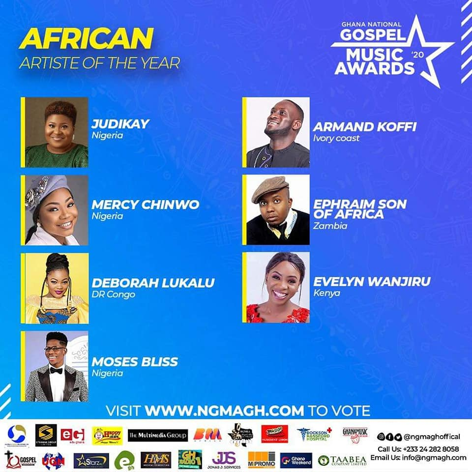 Ephraim Nominated For Ghana Gospel Music Awards
